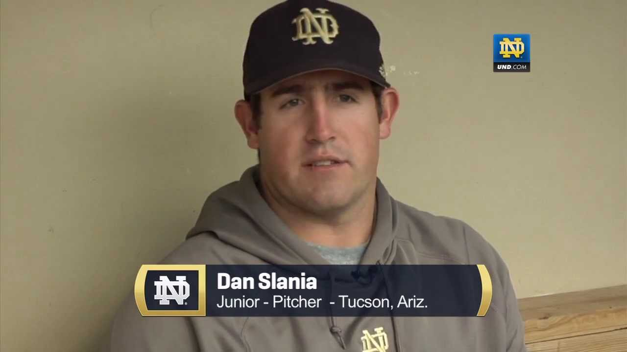 Dan Slania - The Closer - Notre Dame Baseball