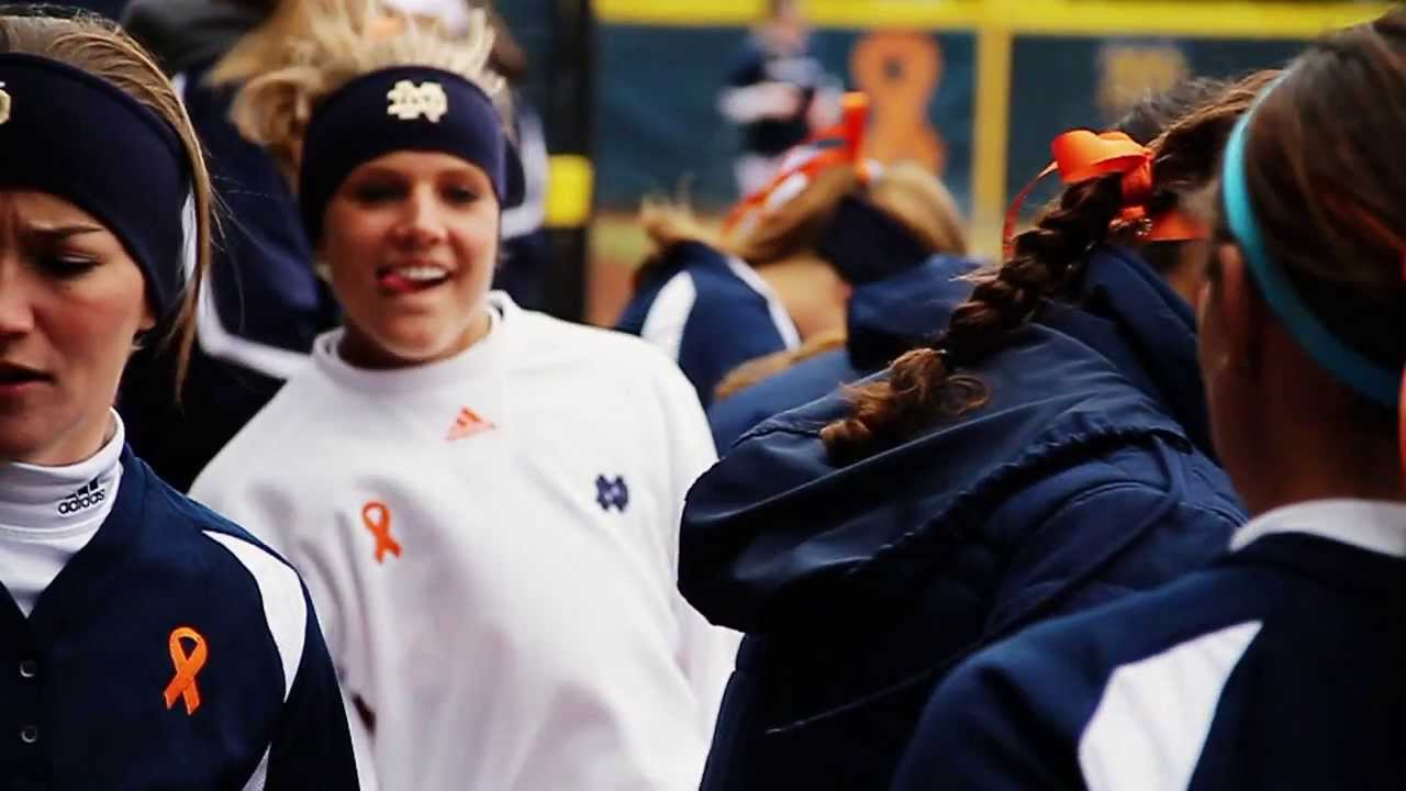 Notre Dame Softball- Megan Nicole Music Video