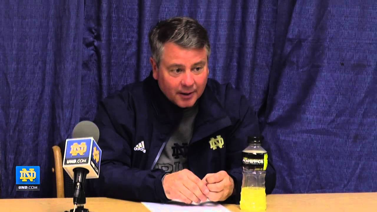 Notre Dame Press Conference - NCAA Lacrosse