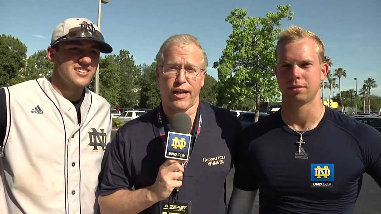 Eric Jagielo and Blaise Lezynski Interview - Notre Dame Baseball