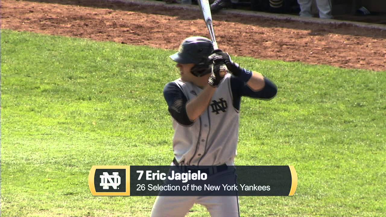 cheap for discount 5a62f ff441 Eric Jagielo – 26th pick, MLB Draft to NY Yankees – Notre ...