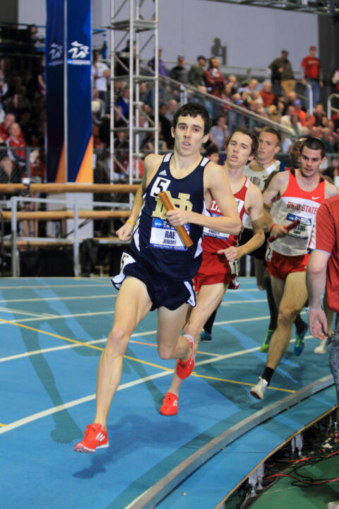 Jeremy Rae earned a silver medal in the 1,500m run at the World University Games Tuesday.