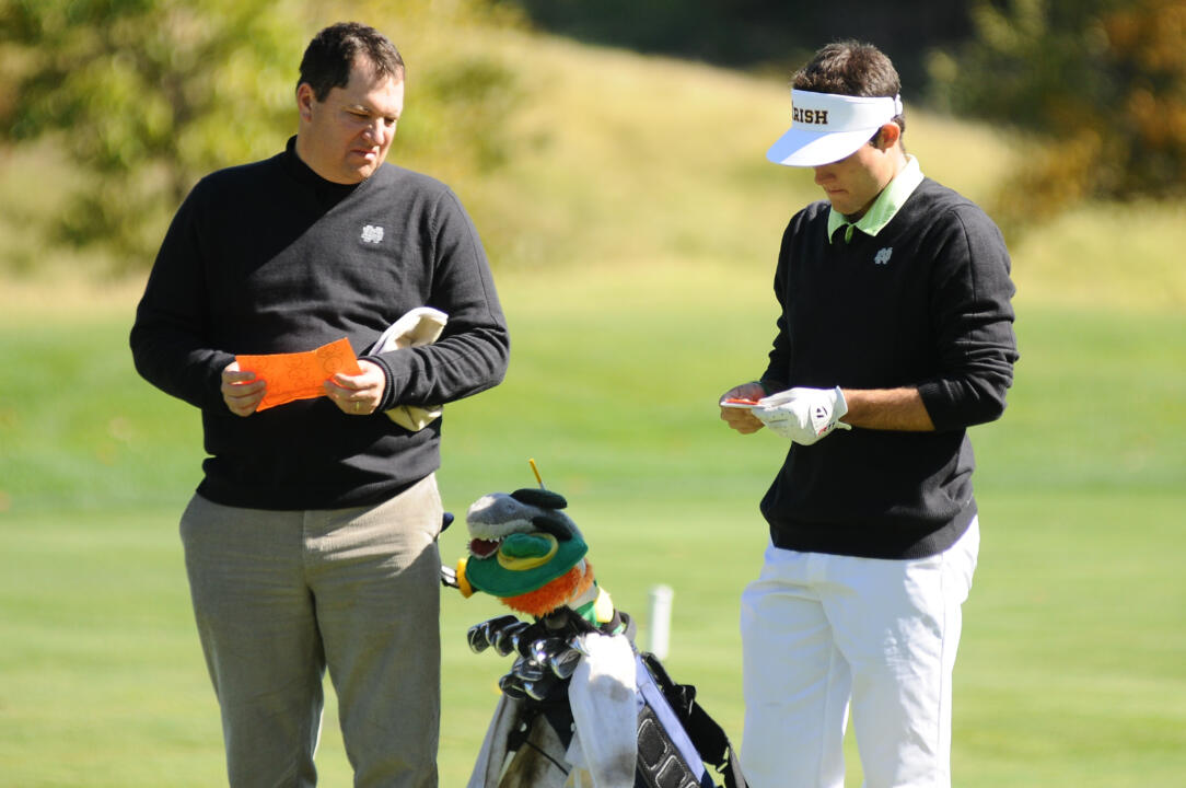 Notre Dame junior Tyler Wingo made seven birdies and one eagle during his second round 66 Tuesday at the Lakewood Country Club in Rockville, Md.