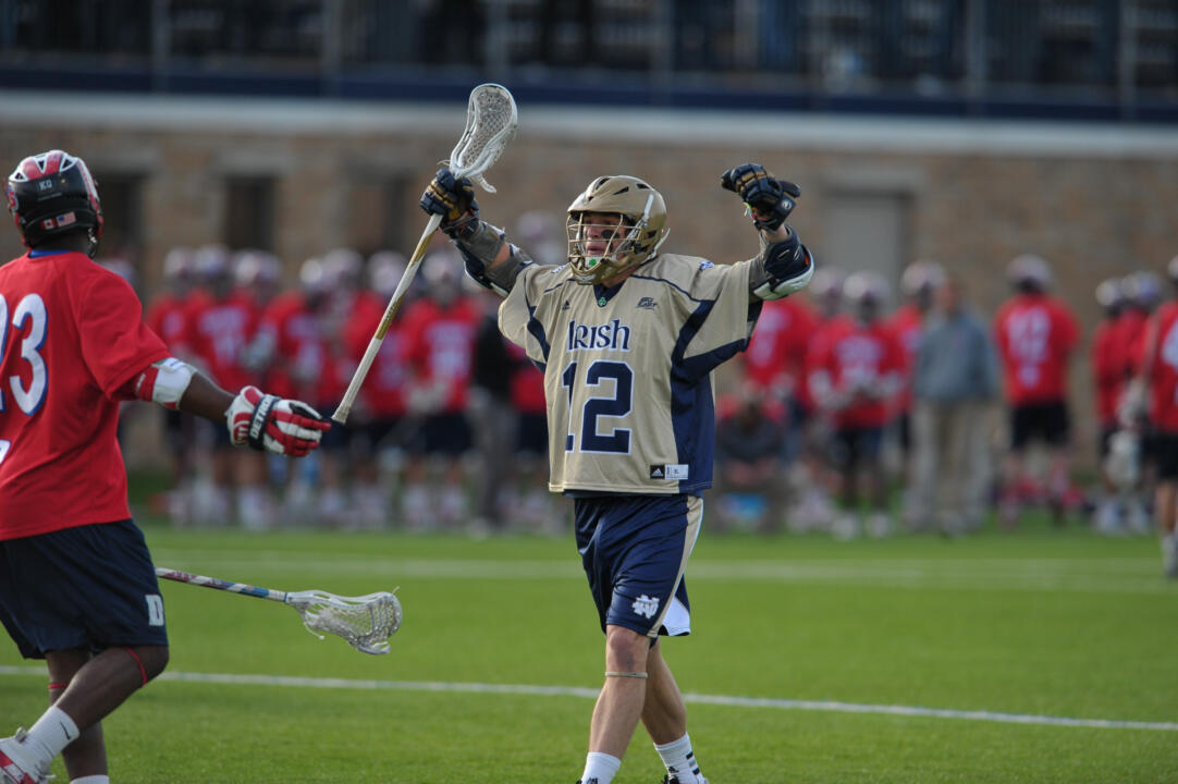 Notre Dame and Duke are the only two men's lacrosse programs in the country to reach the NCAA Championship quarterfinals each of the past four seasons.