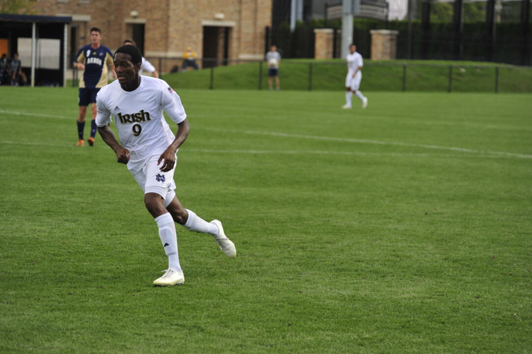 Senior forward Leon Brown and the Fighting Irish are ranked seventh in the NSCAA preseason poll.