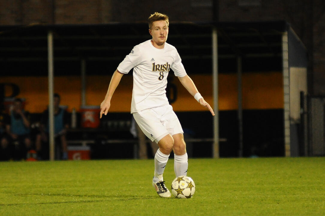 Junior midfielder Nick Besler was one of five Irish players that played a full 90 minutes on Sunday against Creighton.