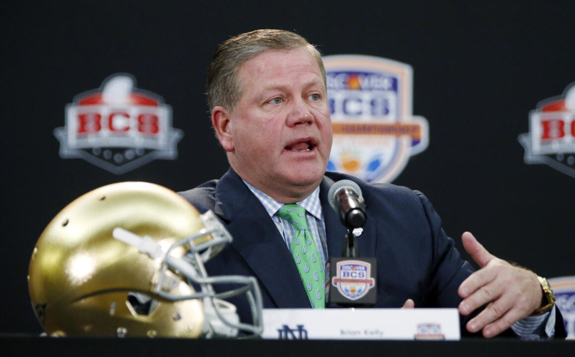 Brian Kelly (file photo)