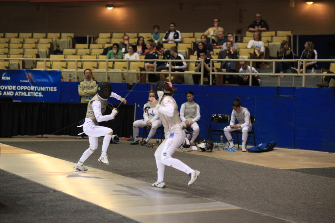 Lee Kiefer competed in both the individual and team women's foil draws at the 2013 Senior World Championships