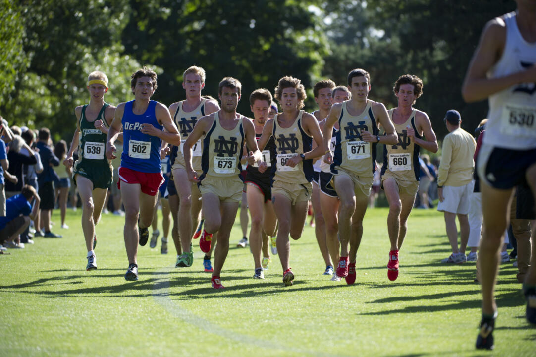The Irish men's squad brings back everyone that competed at the 2012 NCAA Championships in addition to standout Jeremy Rae.