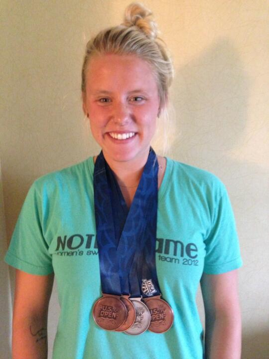 Emma Reaney took home for medals this past week at the U.S. Open.