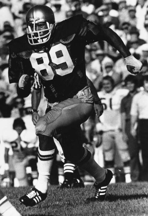Defensive end Ross Browner was a starter as a freshman on the 1973 national championship team