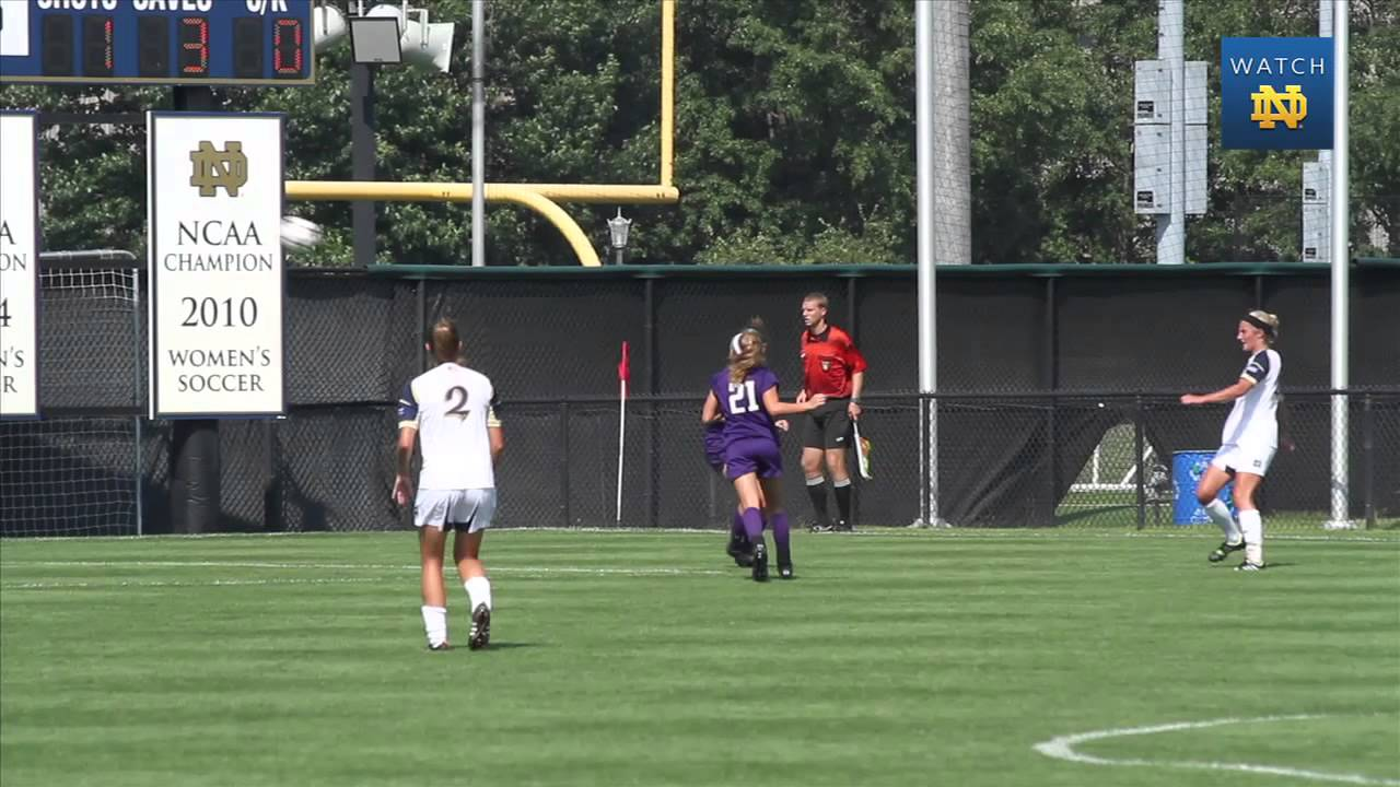 Irish 4, Wildcats 1 - Notre Dame Women's Soccer