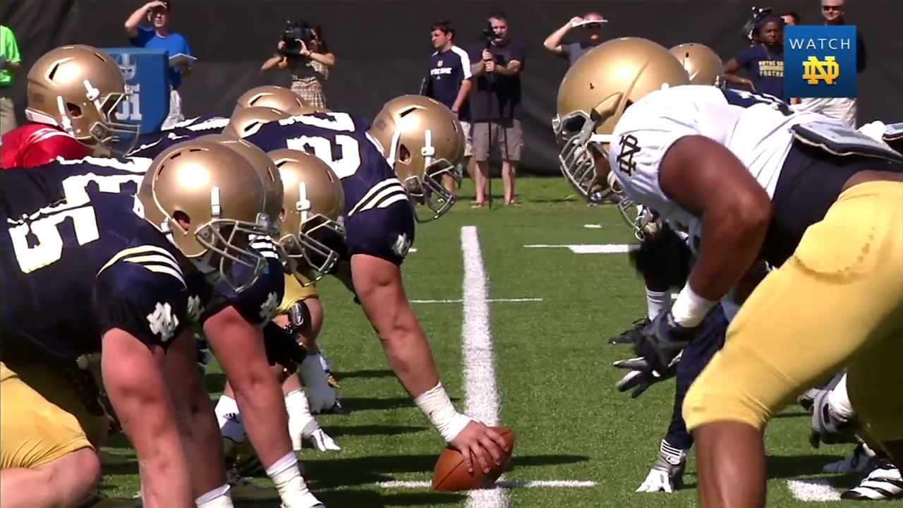 Notre Dame Football Practice Update - Aug. 22, 2013