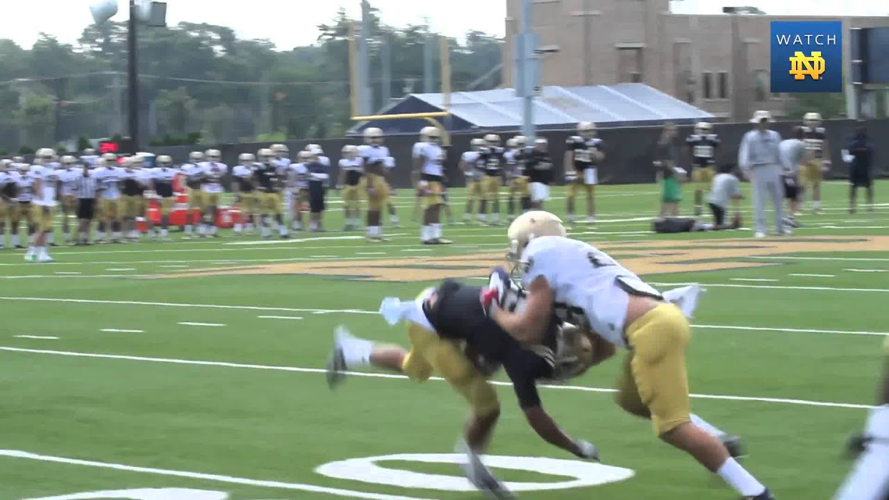 Notre Dame Football Practice Update - Aug. 12, 2013