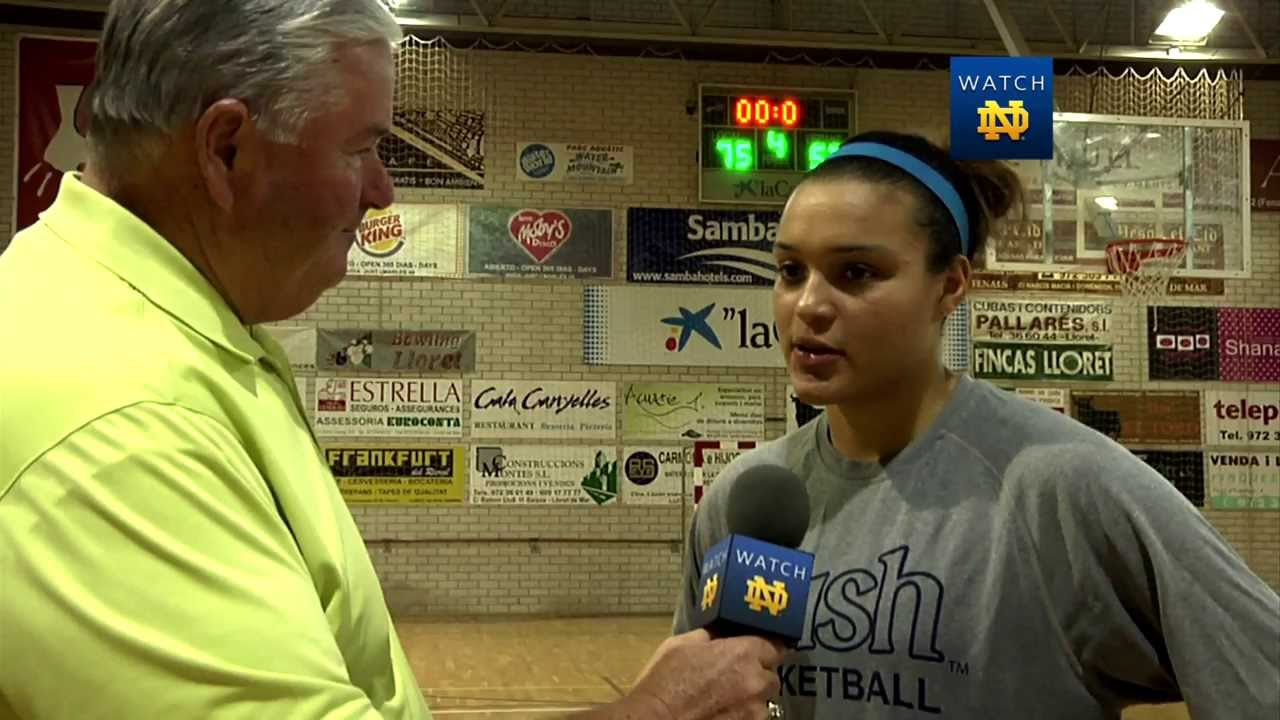 Kayla McBride Talks About The 75-57 Win - Women's Basketball