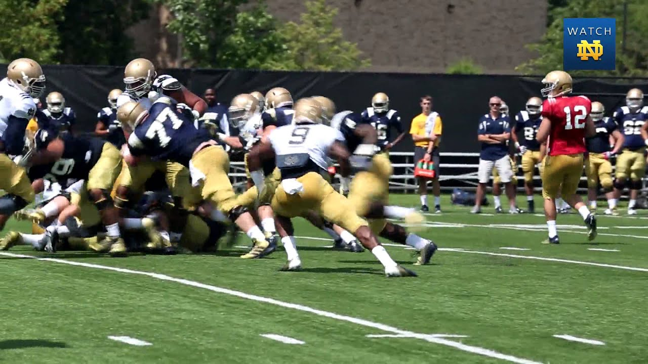 Notre Dame Football Practice Update - Aug. 9, 2013
