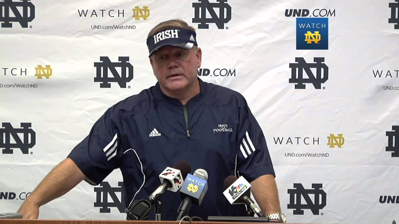 Coach Kelly Media Session - Aug. 9, 2013