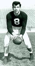 Frank Tripucka threw for 1,122 and 14 touchdowns.