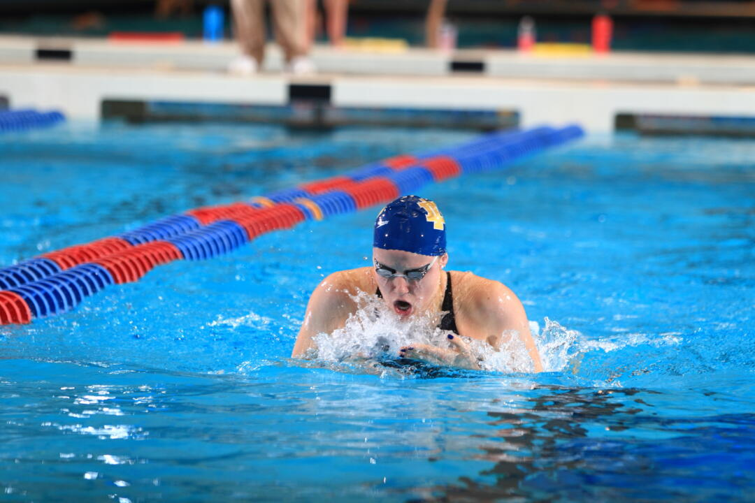 Junior Emma Reaney was named to the 2013-14 USA Swimming National Team Tuesday.