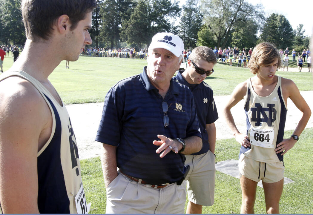 Head men's cross country coach Joe Piane has a stable of freshmen runners that could help the Irish out on the course this season.