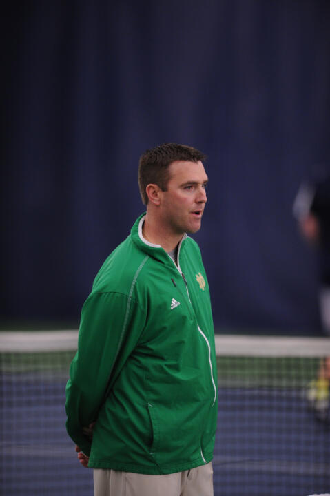Head coach Ryan Sachire and the Irish men's tennis team are hosting two clinics Saturday to raise money for the MS Society.