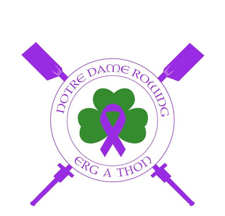 The Notre Dame rowing team will hold its third annual Erg-A-Thon (to raise funds in the fight against pancreatic cancer) from noon-8 p.m. (ET) Friday at the Fieldhouse Mall near LaFortune Student Center on the Notre Dame campus.