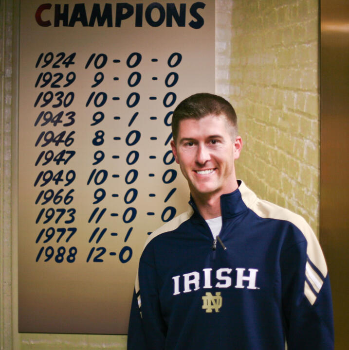 Ryan Grooms oversees all facets of equipment operations for the Notre Dame football team.