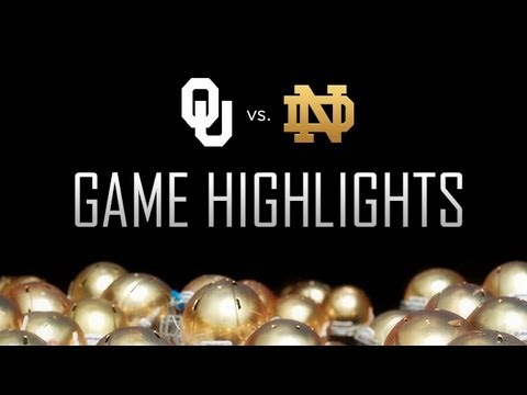 Notre Dame Football vs Oklahoma Highlights