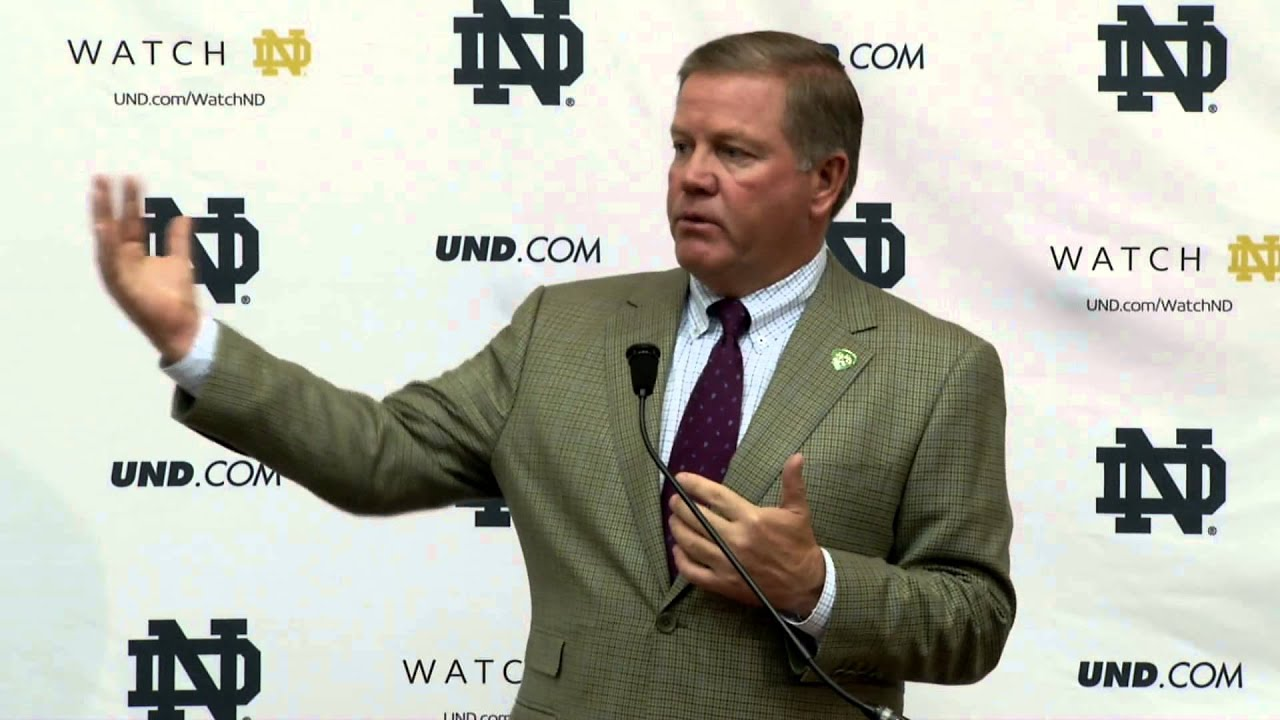 Coach Kelly Oklahoma Preview Press Conference