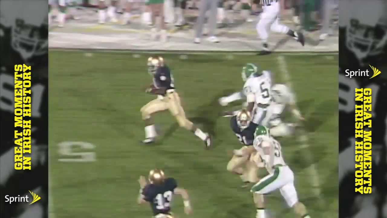 Sprint Greatest Moments - 1987 Tim Brown vs. Michigan State