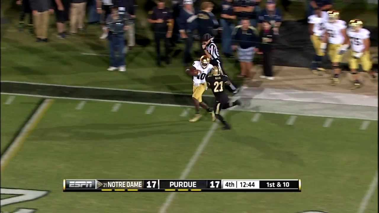 Turning Points - Big Momentum Plays At Purdue