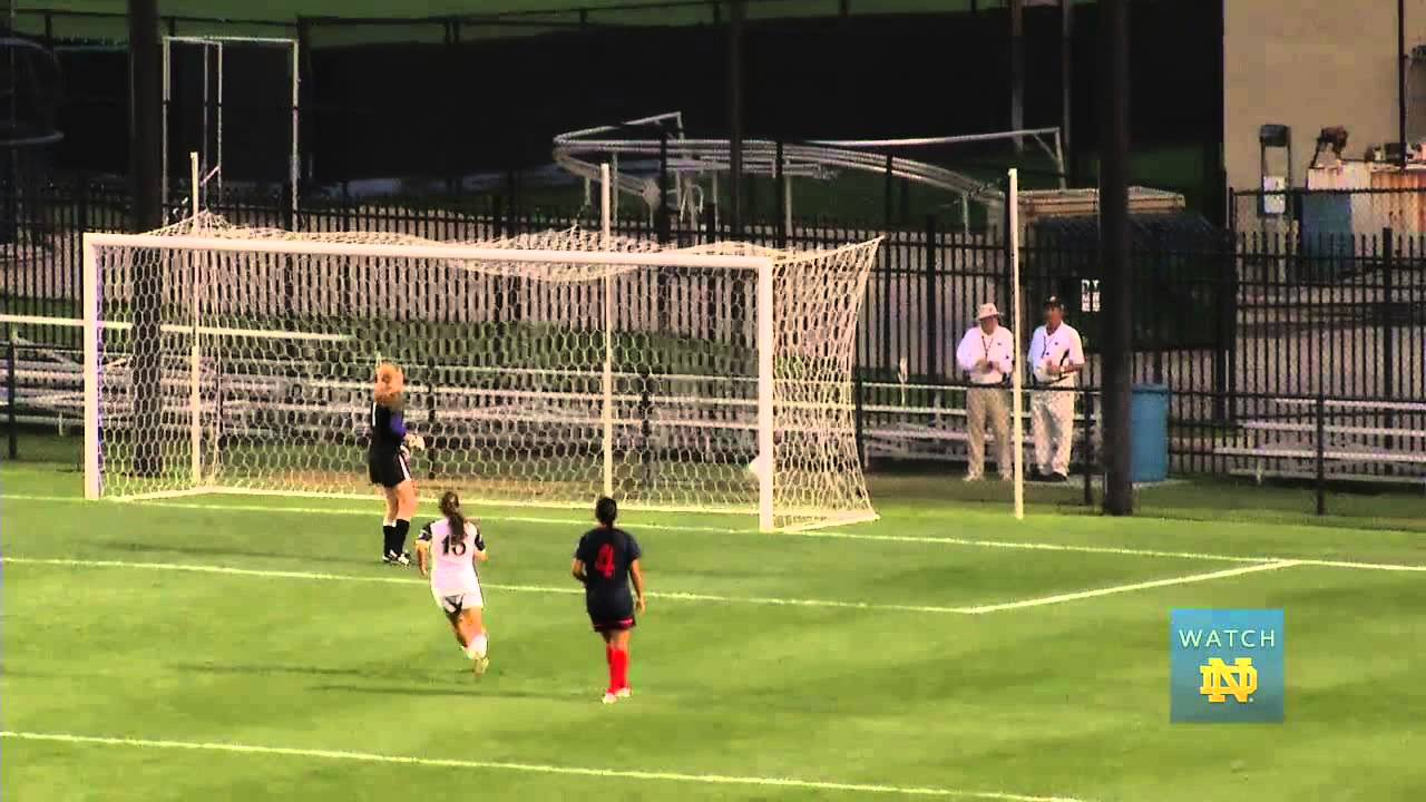 Morgan Andrews Awesome Goal - Notre Dame Women's Soccer