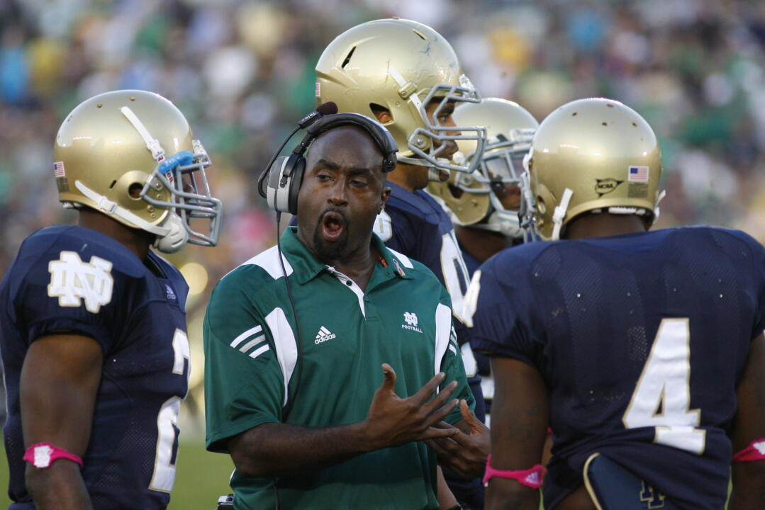 Fourth-year Irish assistant Kerry Cooks, an Irving, Texas native, is primarily responsible for recruiting in the Lone Star State.  Cooks serves as Notre Dame's co-defensive coordinator and cornerbacks coach.