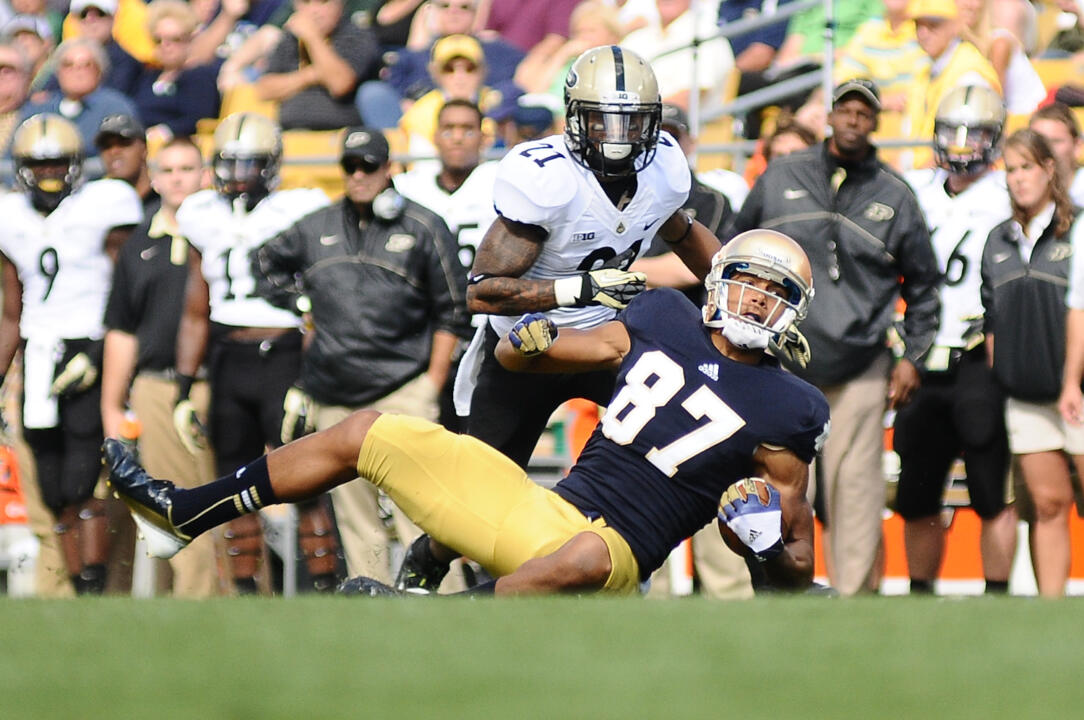Notre Dame WR and South Bend Native Daniel Smith is living out his dream