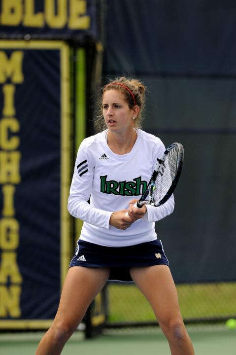 Senior Jennifer Kellner has been named to the All-BIG EAST team twice during her time at Notre Dame.