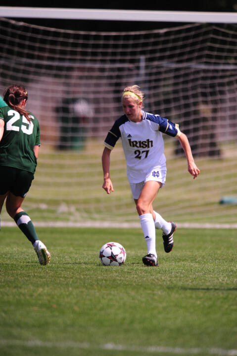 Freshman forward Kaleigh Olmsted's second career goal (and first since the Aug. 23 season-opening win over #RV/25 Illinois) proved to be all the #20/12 Irish needed in a 2-0 win at Clemson Sunday afternoon.