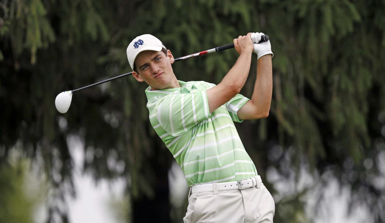 Senior captain Niall Platt posted his fifth under-par round of the season with his second round 71 on Monday