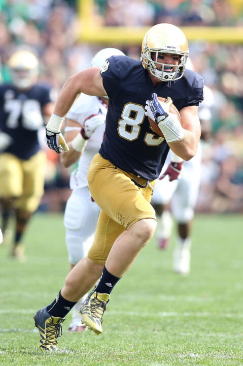 Troy Nilkas is continuing Notre Dame's tradition of excellence at the Tight End position.