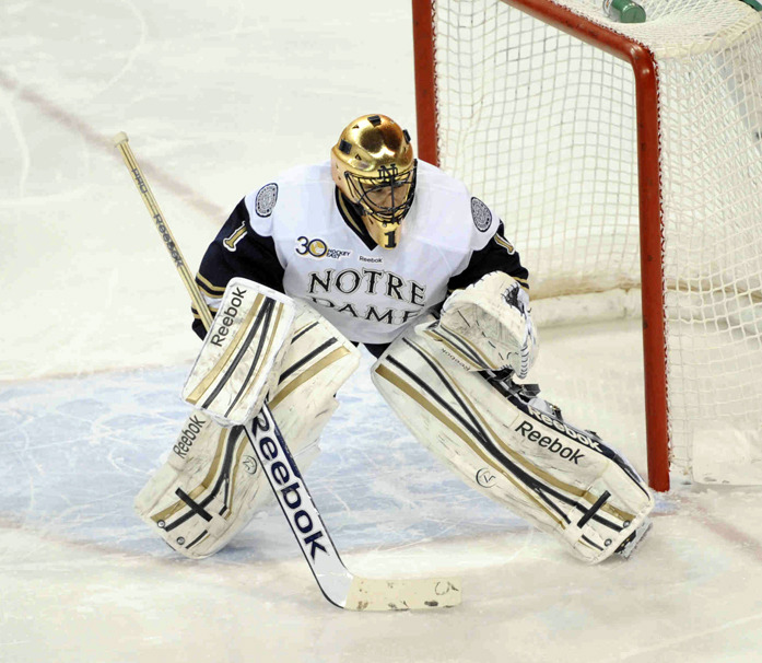 Senior goaltender Steven Summerhays was named the Hockey East Co-Defensive Player of the Week.