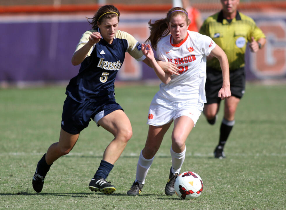 Sophomore Cari Roccaro has been part of a rock-solid Notre Dame midfield unit that has sparked the Fighting Irish to a pair of wins as the 2013 regular season comes to a close this week.