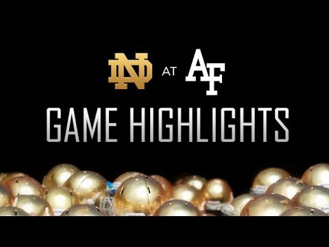 Notre Dame defeats Air Force 45-10