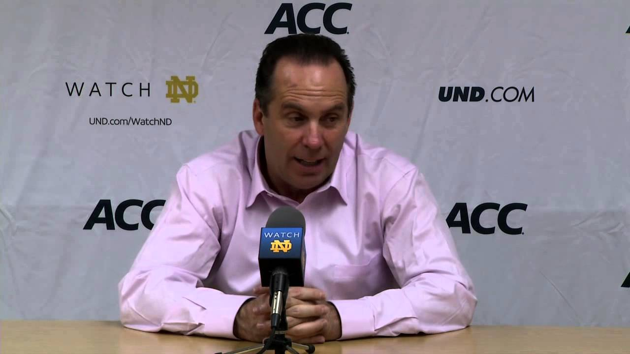 Coach Brey Indianapolis Post Game Press Conference