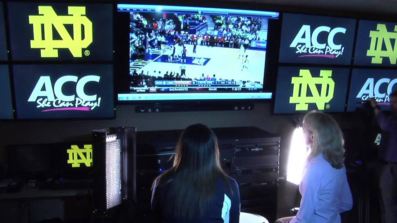 Notre Dame Women's Basketball ACC Media Day Sights and Sounds