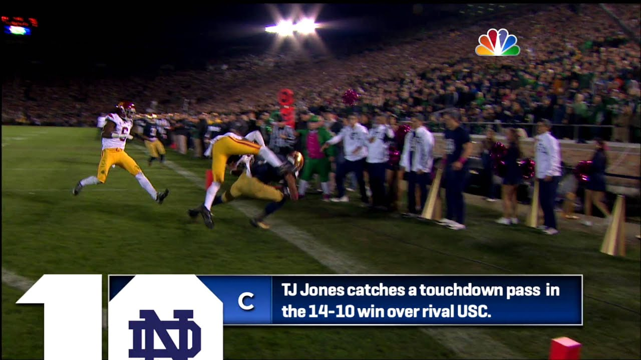 ND Top 10 - Play of the Week 10/14 - 10/20