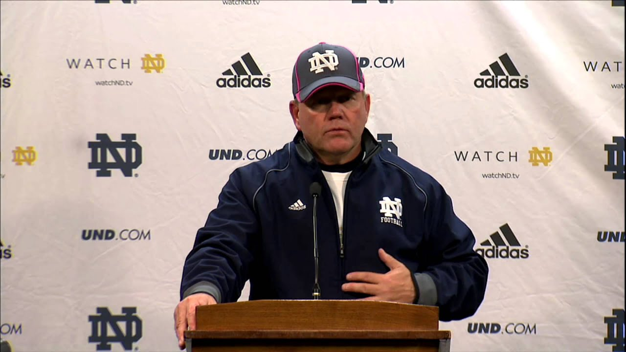 Brian Kelly USC Post-Game Press Conference