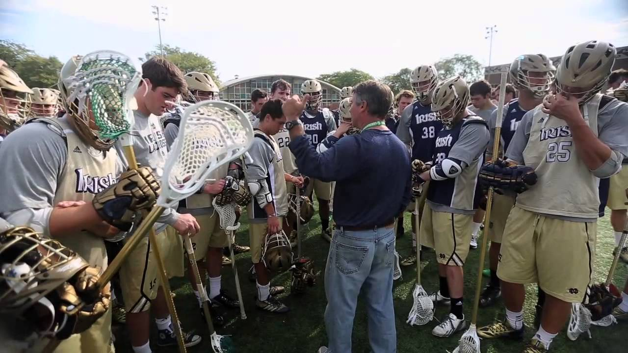 Irish In the ACC - Men's Lacrosse: A Day of Service