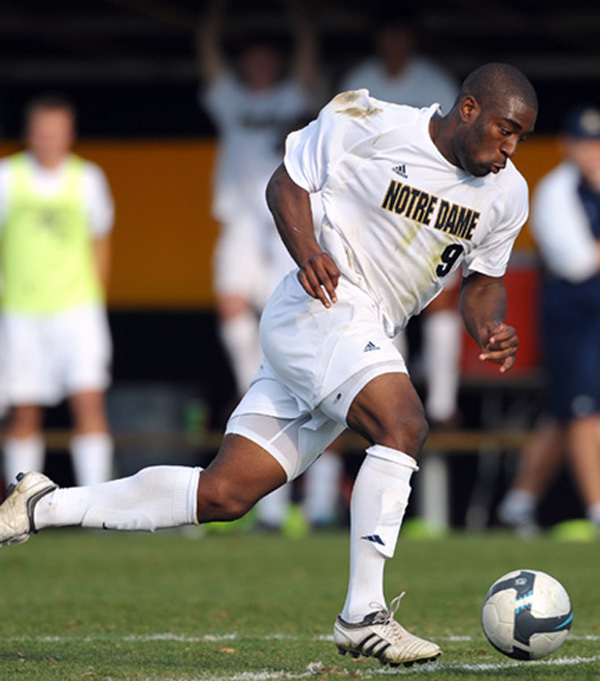 Bright Dike tallied 27 goals and 12 assists in 86 matches during his Notre Dame career.