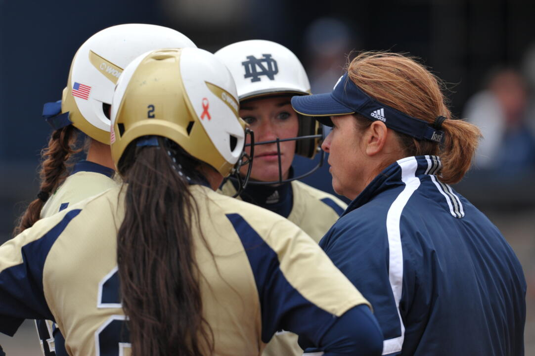Notre Dame head coach Deanna Gumpf announced the team's 2014 signing class of four future Irish players on Friday