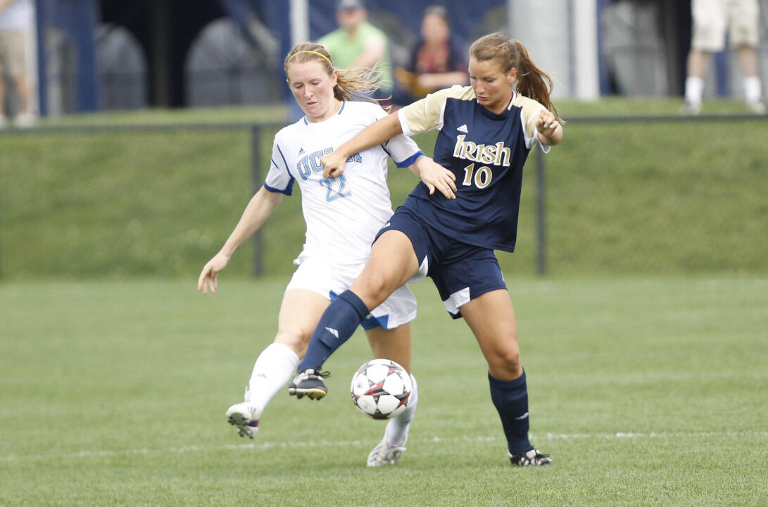 Sophomore midfielder Glory Williams turned in one of the most complete performances of her young career, expertly helping to manage the midfield and Notre Dame's possession game that paid off in a 4-1 win over Iowa in the first round of the NCAA Championship last Friday night at Alumni Field.