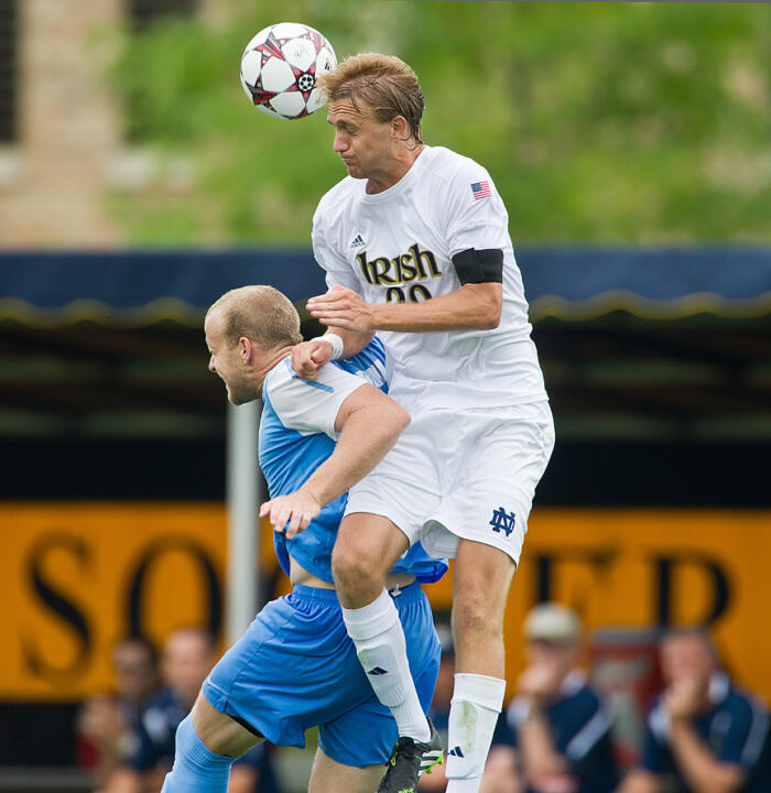 Central defender Grant Van De Casteele and the Irish have held their last three opponents without a goal.